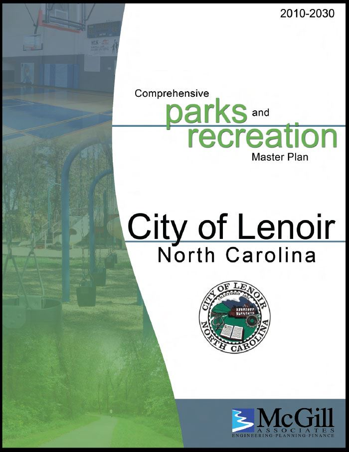 Cover of the Parks and Recreation Master Plan