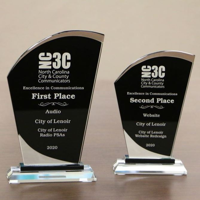 NC3C Excellence in Communications Awards, First Place in Audio, Second Place in Website