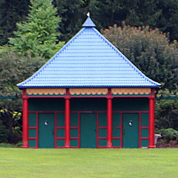 Pagoda at the T.H. Broyhill Walking Park