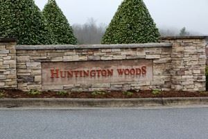 Huntington Woods neighborhood sign