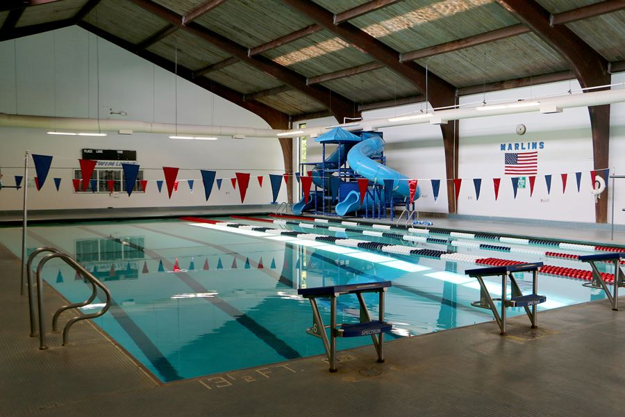 Indoor Pool at the Lenoir Aquatic and Fitness Center