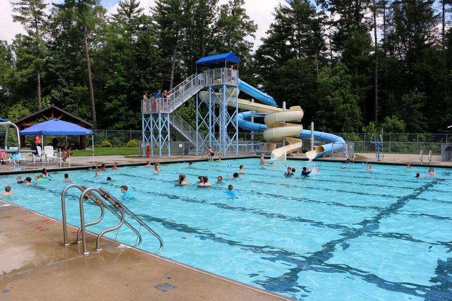 Outdoor Pool at the Lenoir Aquatic and Fitness Center