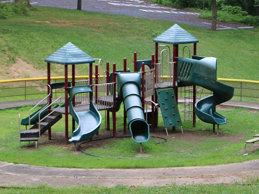 Playground at J.E. Broyhill Park in Lenoir.