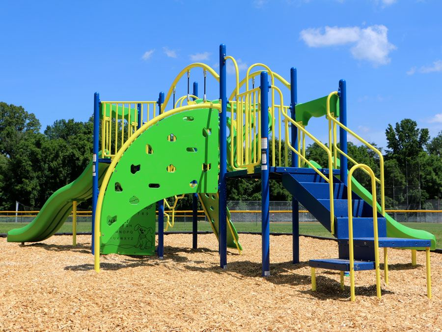 Playground at Lenoir Optimist Park in Lenoir